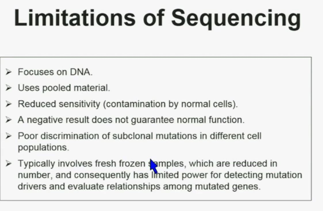BRUG 12 Limit of Sequencing